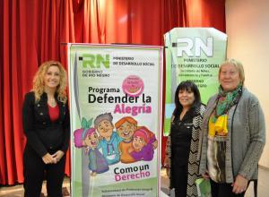 Milesi y Larralde participaron de la primera jornada de Sensibilización sobre la Temática de Maltrato y Abuso Sexual Infantil