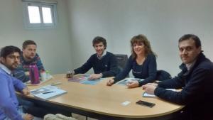 Germanier acercó a jóvenes empresarios y referentes de Hidrocarburos de la Provincia