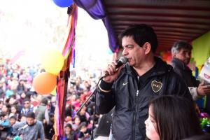 Multitudinario festejo en Gral Fernández Oro