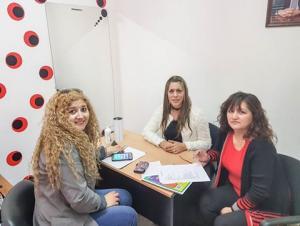 Morales y la titular del Consejo de la Mujer planificaron actividades para septiembre