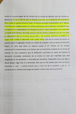 La falaz denuncia sobre la publicidad oficial fue armada en el despacho de Martín Soria