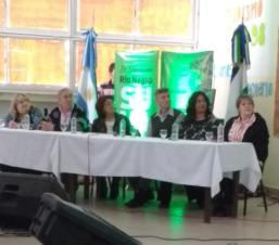 Roxana Fernández participó del Encuentro Provincial por la Reforma de la Escuela Secundaria